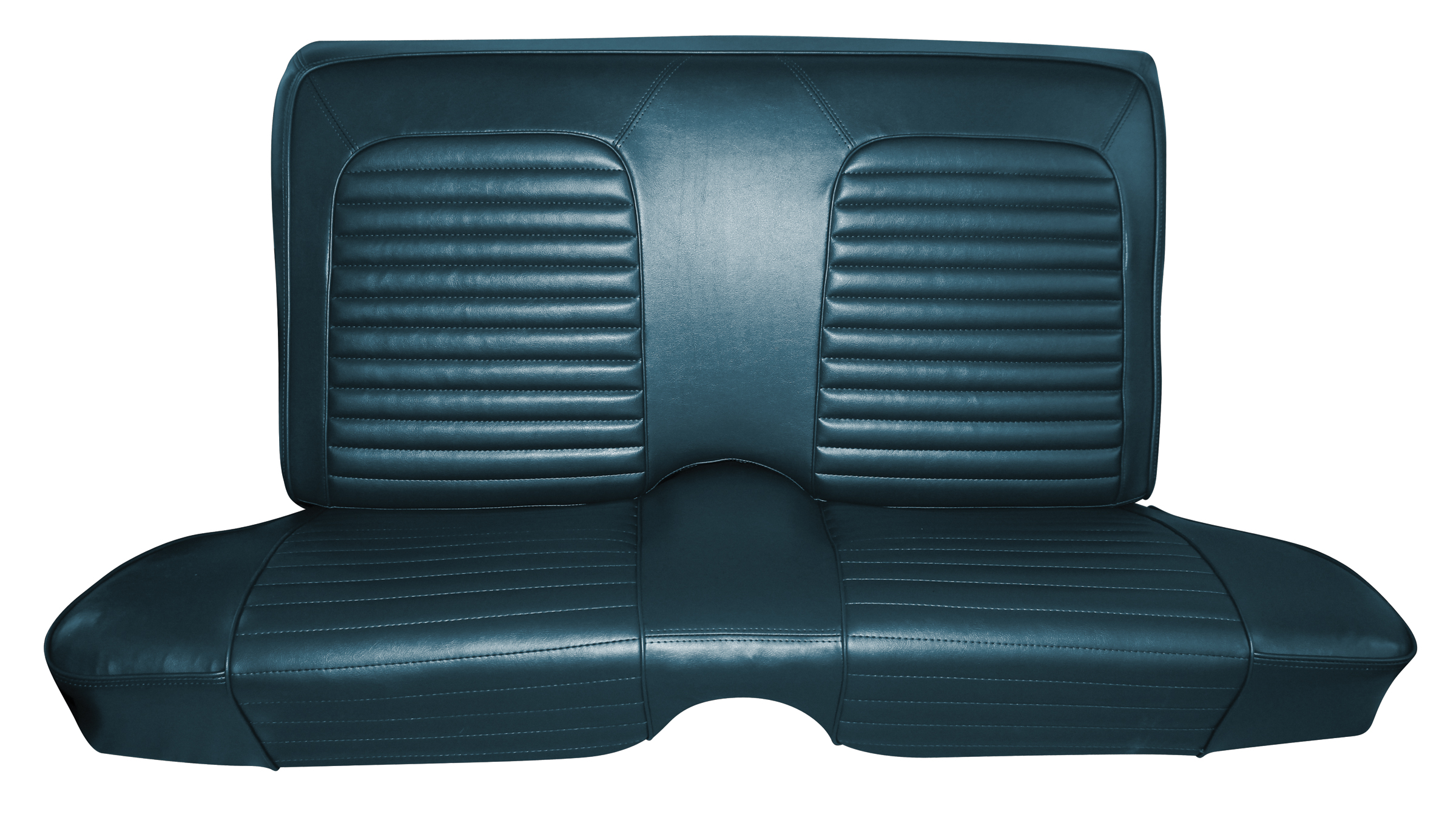 Standard Upholstery 1965 Mustang Standard Coupe Rear Bench Seat