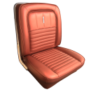 1967 Fairlane 500XL, GT, and GTA 2 Door Front Bucket Seats